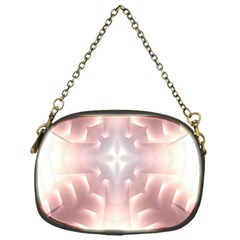 Neonite Abstract Pattern Neon Glow Background Chain Purses (one Side)