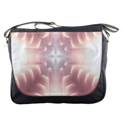 Neonite Abstract Pattern Neon Glow Background Messenger Bags