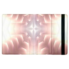 Neonite Abstract Pattern Neon Glow Background Apple Ipad 2 Flip Case