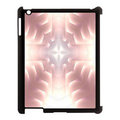 Neonite Abstract Pattern Neon Glow Background Apple Ipad 3/4 Case (black)