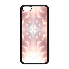 Neonite Abstract Pattern Neon Glow Background Apple Iphone 5c Seamless Case (black) by Nexatart
