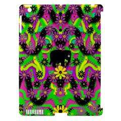 Jungle Life And Apples Apple Ipad 3/4 Hardshell Case (compatible With Smart Cover) by pepitasart