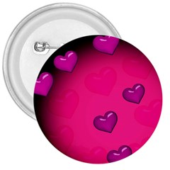 Pink Hearth Background Wallpaper Texture 3  Buttons