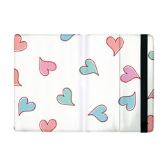 Colorful Random Hearts Apple Ipad Mini Flip Case