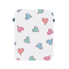 Colorful Random Hearts Apple Ipad 2/3/4 Protective Soft Cases