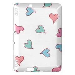 Colorful Random Hearts Kindle Fire Hdx Hardshell Case
