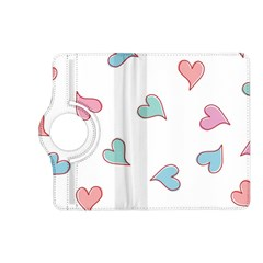 Colorful Random Hearts Kindle Fire Hd (2013) Flip 360 Case by Nexatart