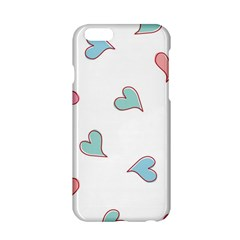 Colorful Random Hearts Apple Iphone 6/6s Hardshell Case by Nexatart