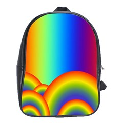 Background Rainbow School Bags(large)  by Nexatart
