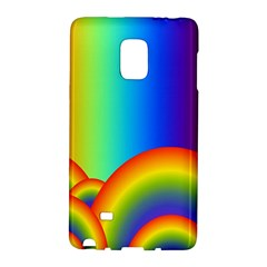 Background Rainbow Galaxy Note Edge by Nexatart