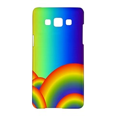Background Rainbow Samsung Galaxy A5 Hardshell Case
