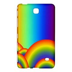 Background Rainbow Samsung Galaxy Tab 4 (7 ) Hardshell Case