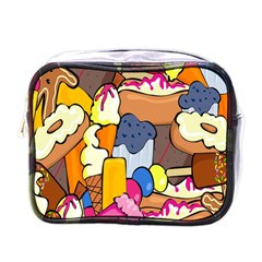Sweet Stuff Digitally Food Mini Toiletries Bags by Nexatart
