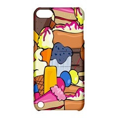 Sweet Stuff Digitally Food Apple Ipod Touch 5 Hardshell Case With Stand by Nexatart