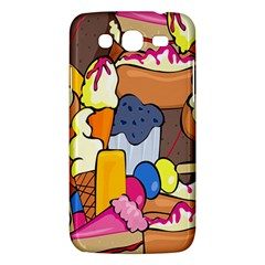 Sweet Stuff Digitally Food Samsung Galaxy Mega 5 8 I9152 Hardshell Case  by Nexatart