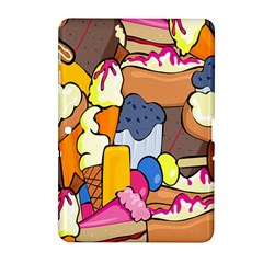 Sweet Stuff Digitally Food Samsung Galaxy Tab 2 (10 1 ) P5100 Hardshell Case