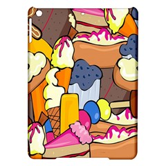 Sweet Stuff Digitally Food Ipad Air Hardshell Cases by Nexatart