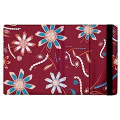 Floral Seamless Pattern Vector Apple Ipad 2 Flip Case by Nexatart
