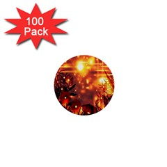 Summer Evening 1  Mini Buttons (100 Pack)