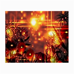Summer Evening Small Glasses Cloth (2 Side)