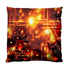 Summer Evening Standard Cushion Case (two Sides) by Nexatart
