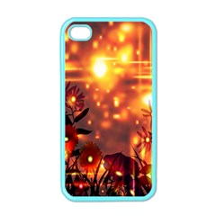 Summer Evening Apple Iphone 4 Case (color)