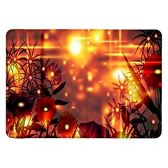 Summer Evening Samsung Galaxy Tab 8 9  P7300 Flip Case by Nexatart