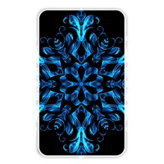 Blue Snowflake Memory Card Reader