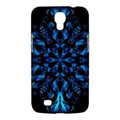 Blue Snowflake Samsung Galaxy Mega 6 3  I9200 Hardshell Case
