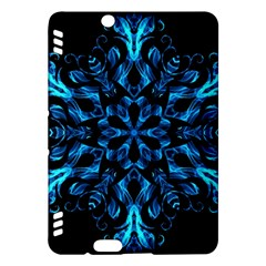 Blue Snowflake Kindle Fire Hdx Hardshell Case