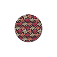 Floral Seamless Pattern Vector Golf Ball Marker by Nexatart