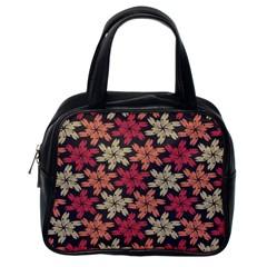 Floral Seamless Pattern Vector Classic Handbags (one Side) by Nexatart