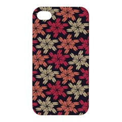 Floral Seamless Pattern Vector Apple Iphone 4/4s Premium Hardshell Case by Nexatart