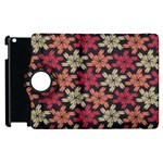 Floral Seamless Pattern Vector Apple iPad 3/4 Flip 360 Case Front