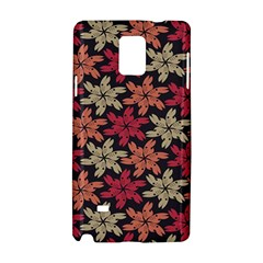 Floral Seamless Pattern Vector Samsung Galaxy Note 4 Hardshell Case by Nexatart