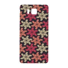 Floral Seamless Pattern Vector Samsung Galaxy Alpha Hardshell Back Case