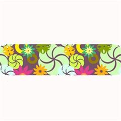 Floral Seamless Pattern Vector Large Bar Mats by Nexatart