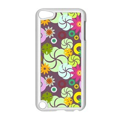Floral Seamless Pattern Vector Apple Ipod Touch 5 Case (white) by Nexatart