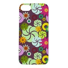 Floral Seamless Pattern Vector Apple Iphone 5s/ Se Hardshell Case
