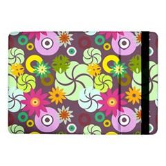 Floral Seamless Pattern Vector Samsung Galaxy Tab Pro 10.1  Flip Case by Nexatart
