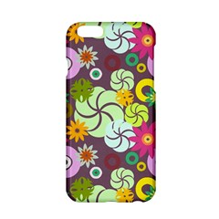 Floral Seamless Pattern Vector Apple Iphone 6/6s Hardshell Case by Nexatart