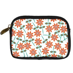 Floral Seamless Pattern Vector Digital Camera Cases by Nexatart