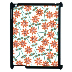 Floral Seamless Pattern Vector Apple Ipad 2 Case (black) by Nexatart