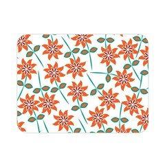 Floral Seamless Pattern Vector Double Sided Flano Blanket (mini)