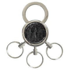 Old Black Background 3 Ring Key Chains