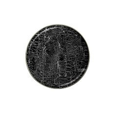 Old Black Background Hat Clip Ball Marker by Nexatart