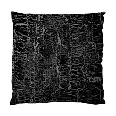 Old Black Background Standard Cushion Case (two Sides) by Nexatart