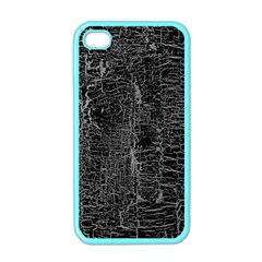 Old Black Background Apple Iphone 4 Case (color) by Nexatart