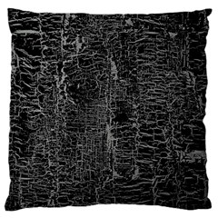 Old Black Background Large Cushion Case (one Side) by Nexatart
