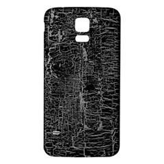Old Black Background Samsung Galaxy S5 Back Case (white) by Nexatart